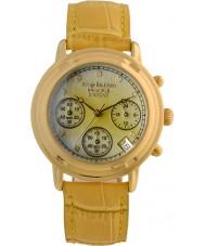 Krug-Baumen 150574DL Bayanlar prensip elmas kronograf izle