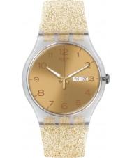 Swatch SUOK704 Yeni gent - altın ışıltı izle