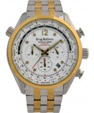 Krug-Baumen 100107DM Mens hava explorer elmas sınırlı sayıda izle