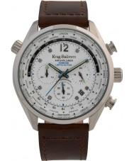 Krug-Baumen 100200DM Mens hava explorer elmas sınırlı sayıda izle