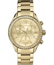 Timex TW2P66900 Bayanlar miami altın kronograf izle