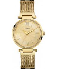 Guess W0638L2 Bayanlar soho altın bilezik saatini kaplama